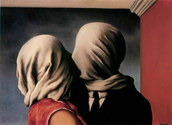 Magritte_TheLovers1928