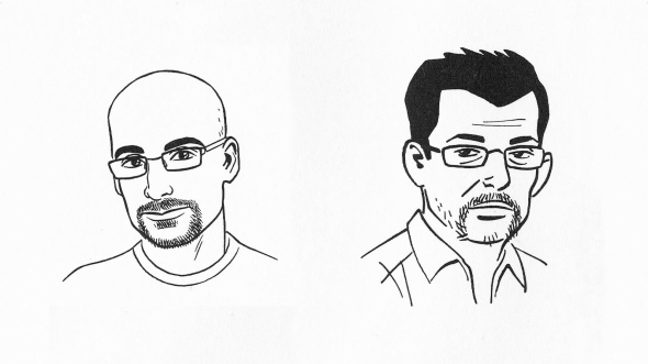 Junot Díaz and Jaime Hernandez illustrated by Jaime Hernandez