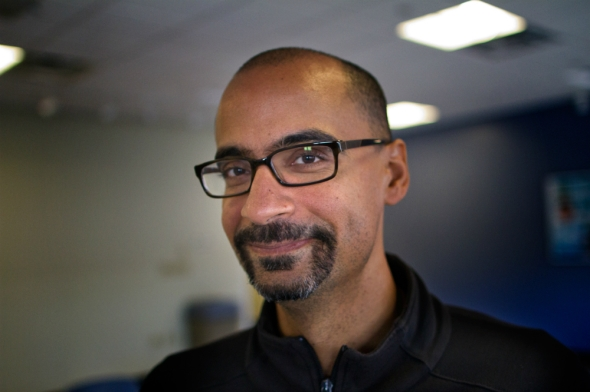 Junot Diaz. Photo by Jesse Costa/WBUR